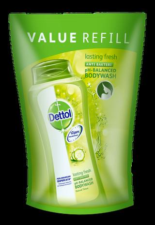 Sabun Cair Anti Bakteri Dettol Lasting Fresh  (450ml)